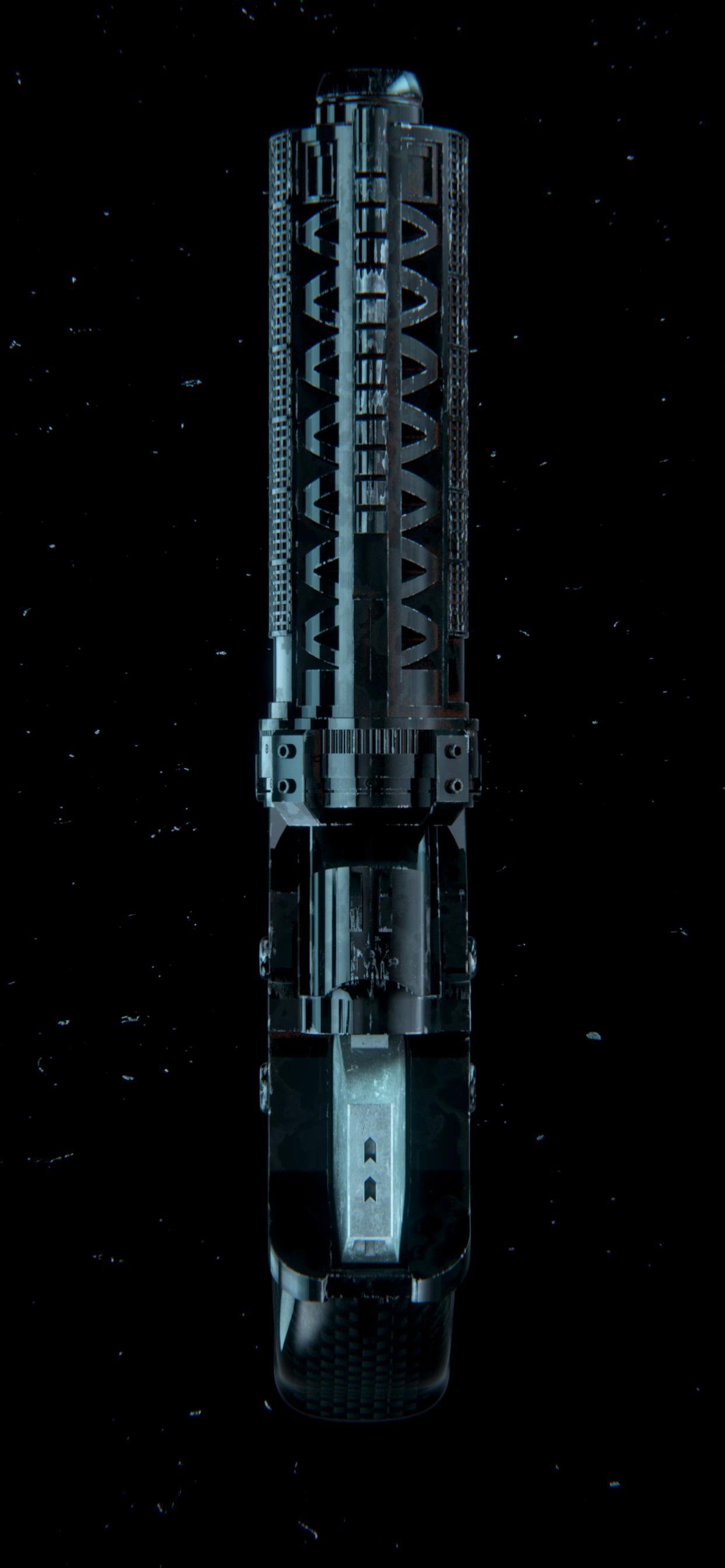 Blade Runner 2046 K's Blaster 4 Jason Zigrino