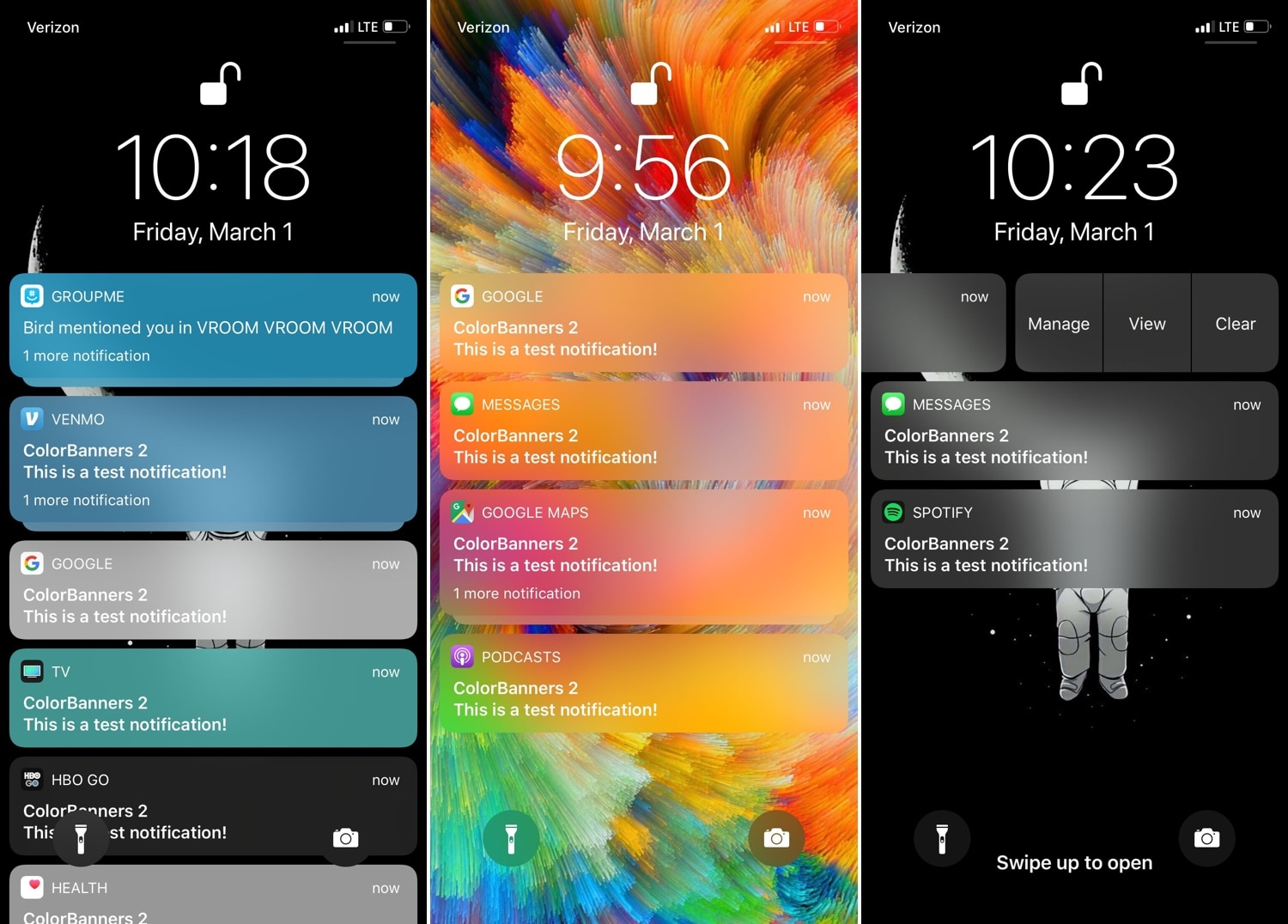 Colorize your jailbroken handset's notifications with