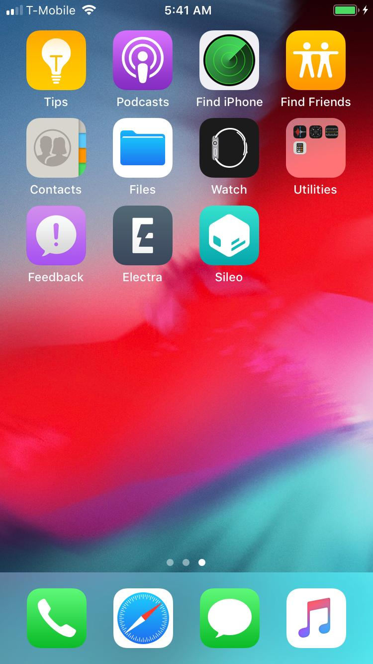 CoolStar teases Electra for iOS 12 in screenshot shared via