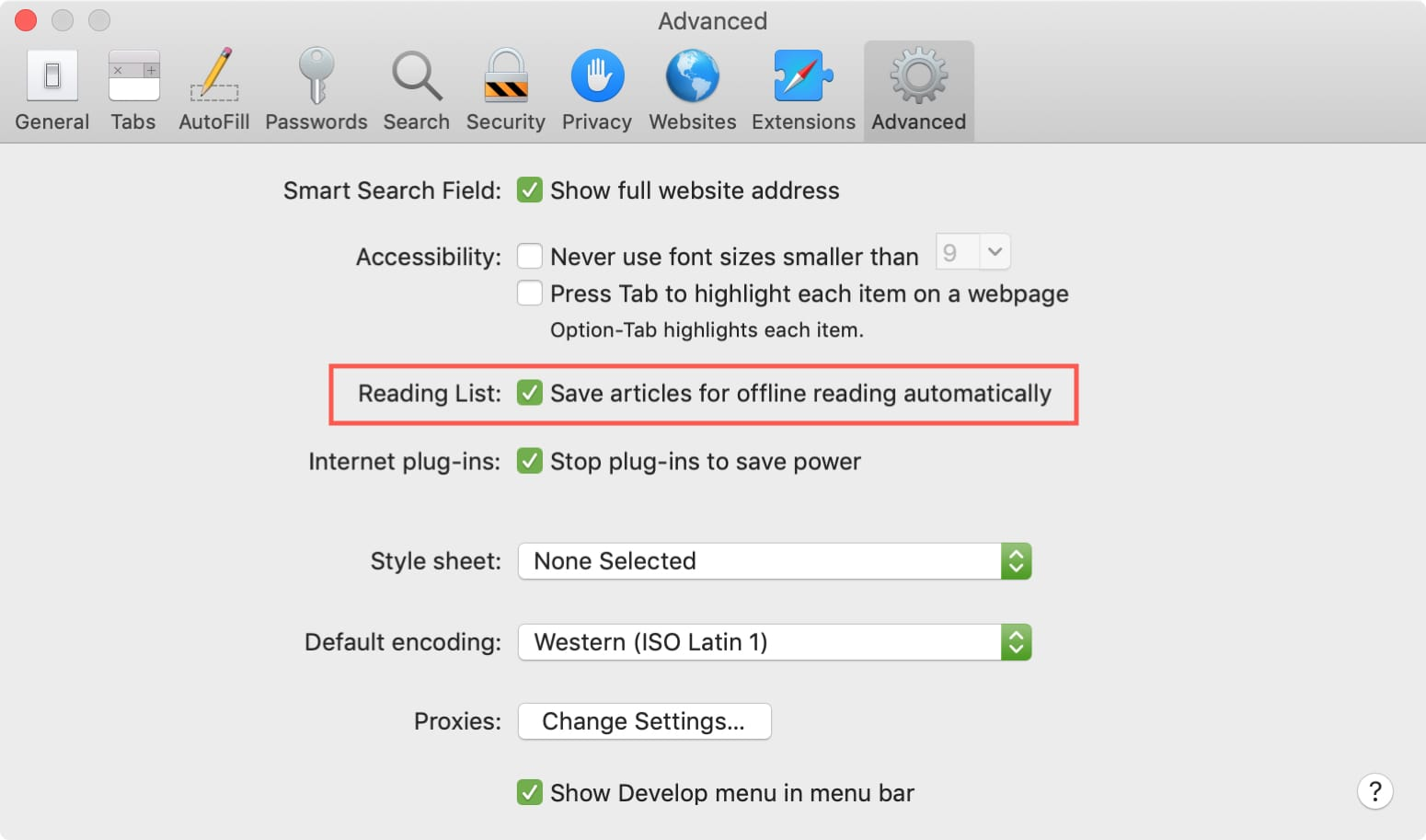 How to enable, add and access Safari Reading List items to
