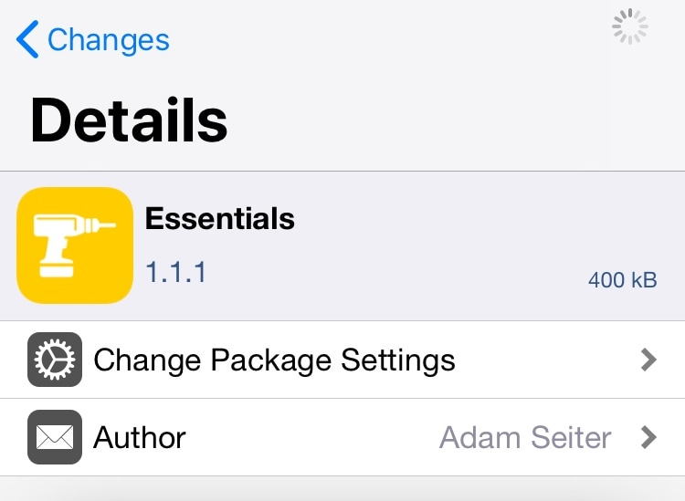 Essentials: An all-in-one SpringBoard customization tweak