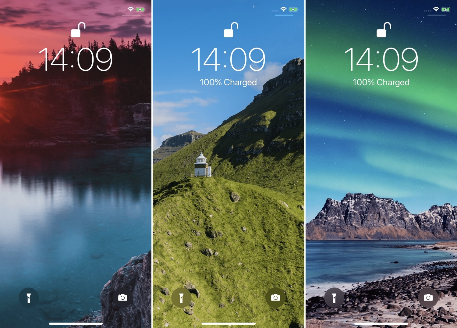 FreshWall gives you a new wallpaper to look at every time you unlock