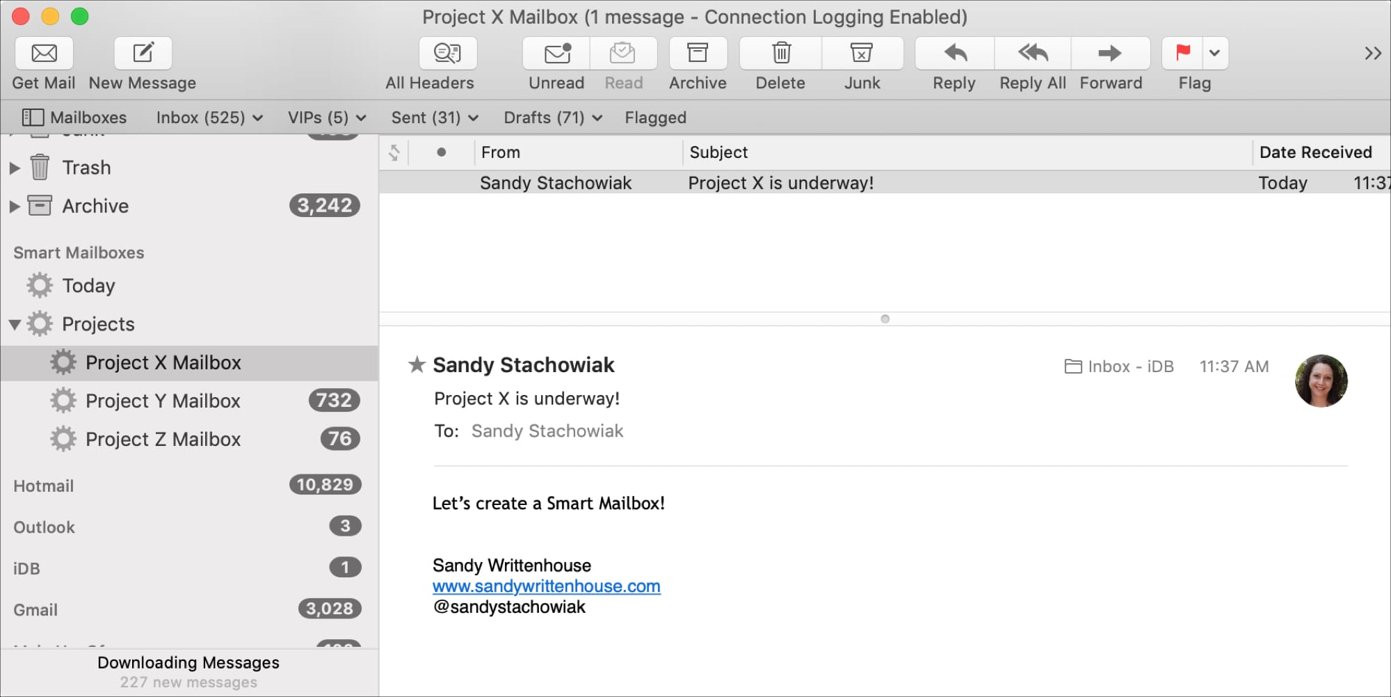 How to use Smart Mailboxes in Mail on Mac