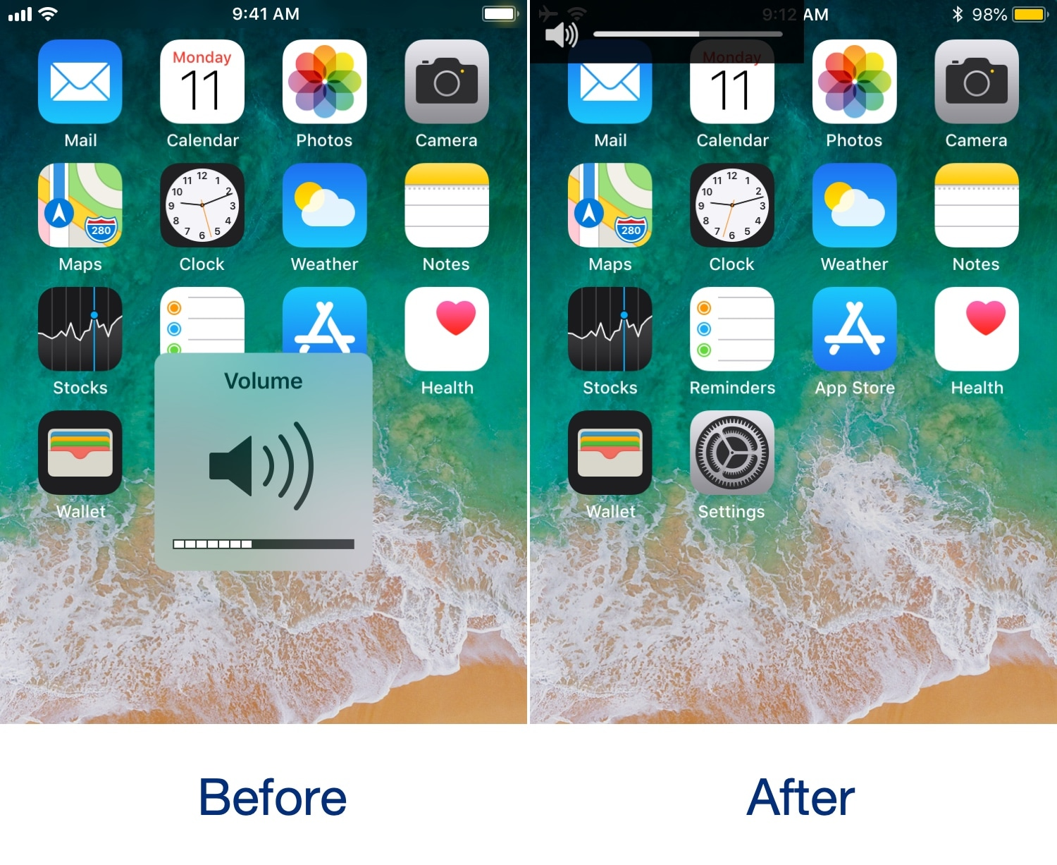 This Tweak Simplify Your iPhone Volume HUD
