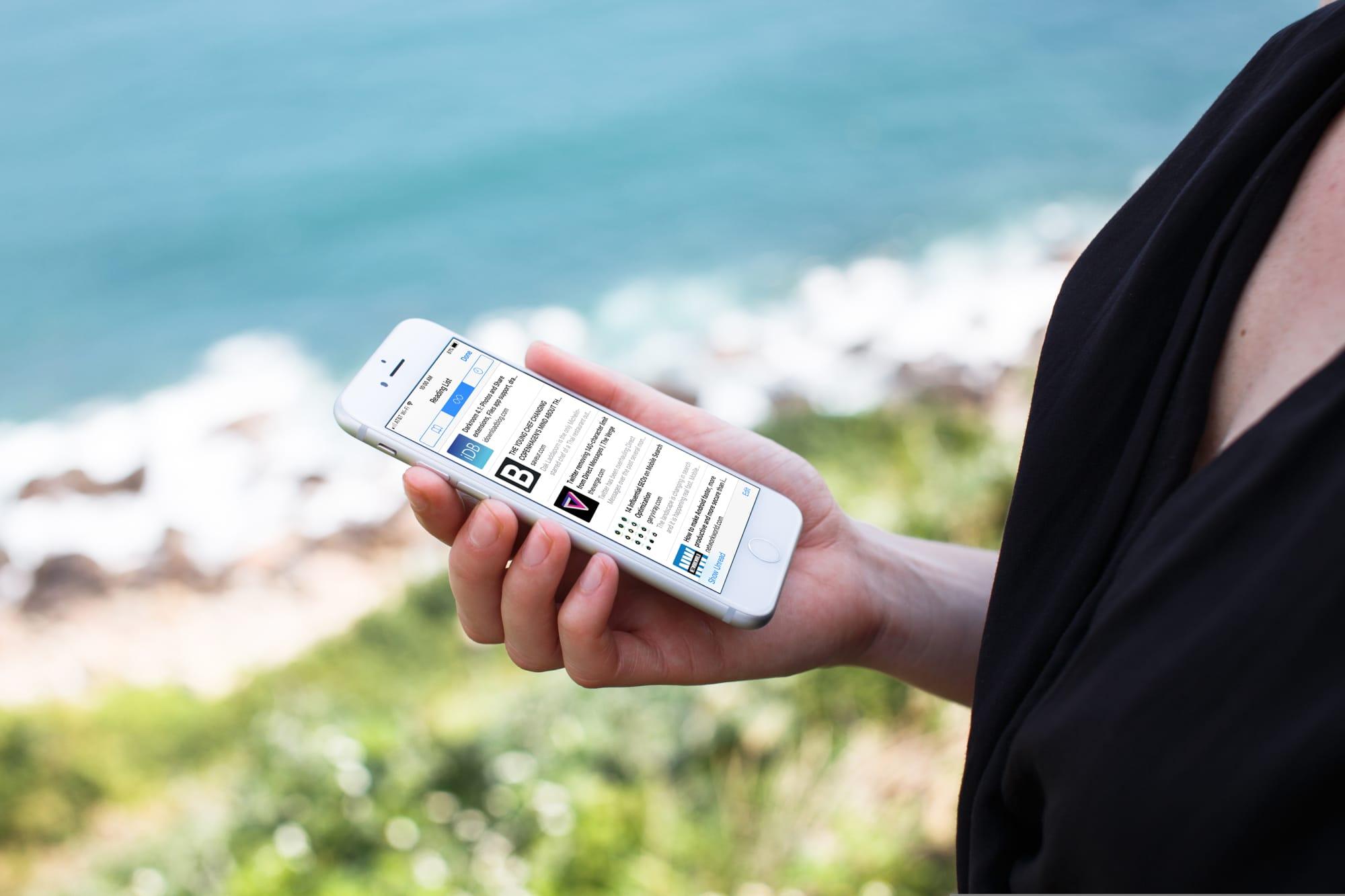 Offline Safari Reading List on iPhone