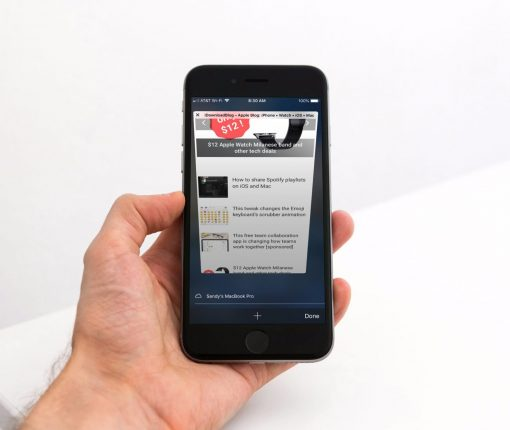 Safari Private Browsing Button Missing iPhone