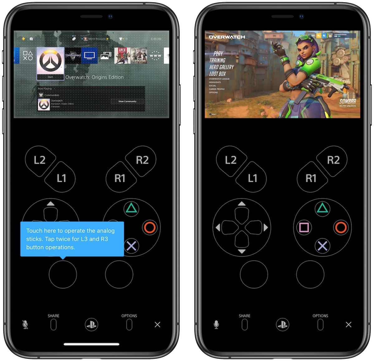 You can now play PS4 games with touch controls on your iPhone