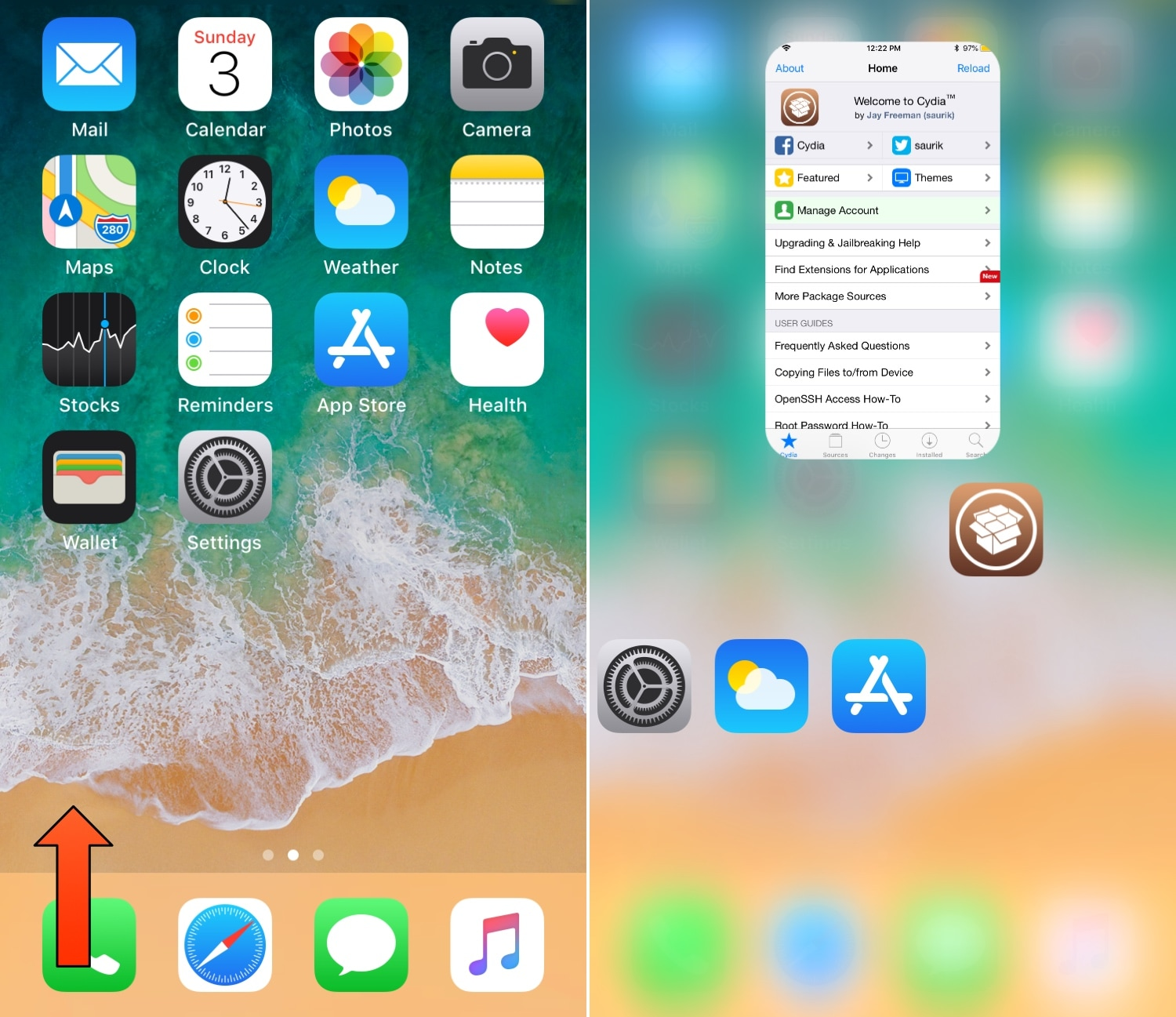 Switchy: a webOS-inspired App Switcher for jailbroken iOS devices