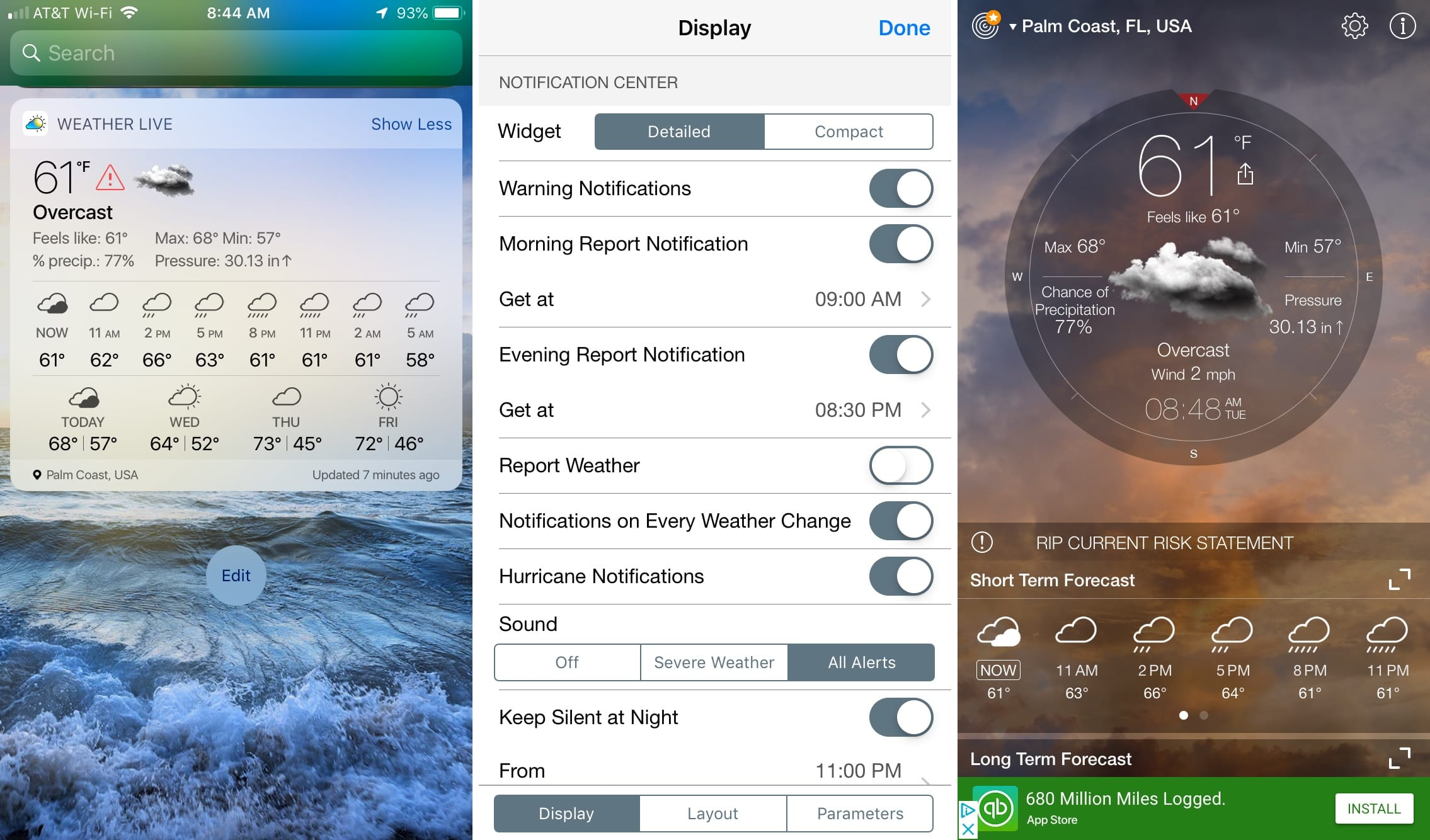 The best free iPhone weather widgets