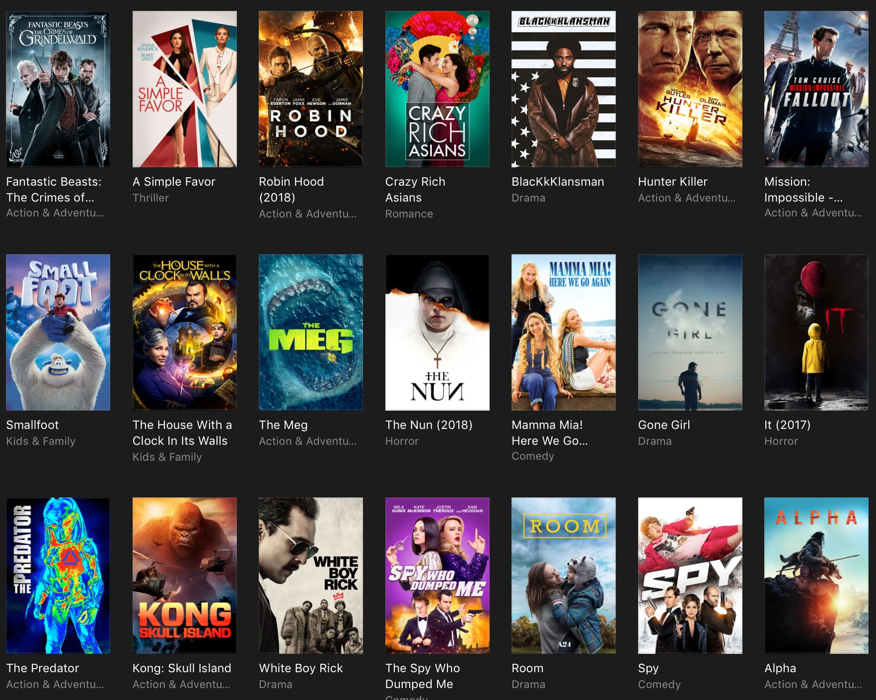 iTunes movie deals: $10 recent hits in 4K HDR, $5 iconic indie films, $15 triple features and more