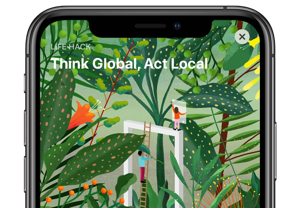 App Store to honor 2019 Earth Day with original stories, themed