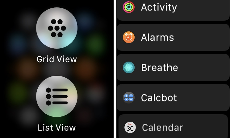 HomeList ports watchOS' List View-based Home screen to iOS