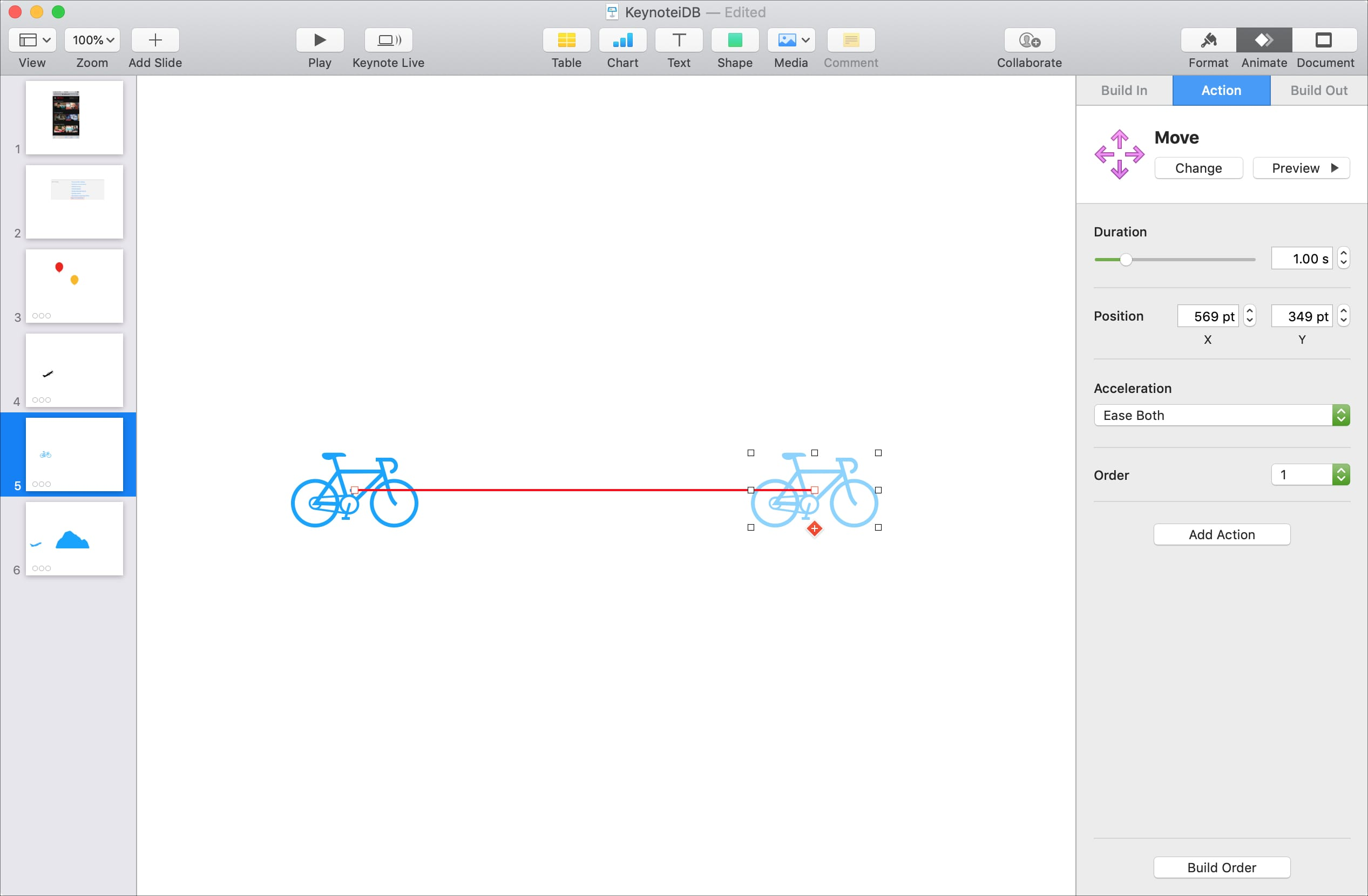 Create Motion Path Keynote Mac