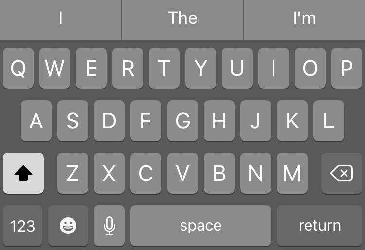 This tweak lets you have a dark keyboard on your iPhone all