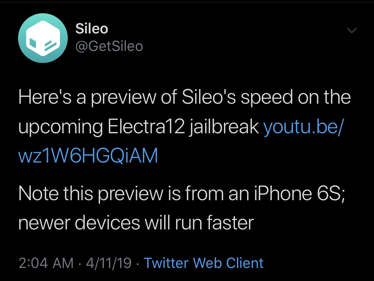 Sileo Team teases zippy Sileo app running on Electra12