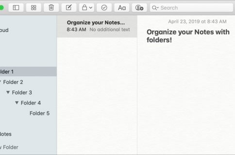 How to create and format lists in Stickies for Mac
