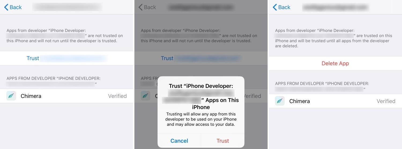 How to jailbreak iOS 12 0-12 3 beta with Chimera