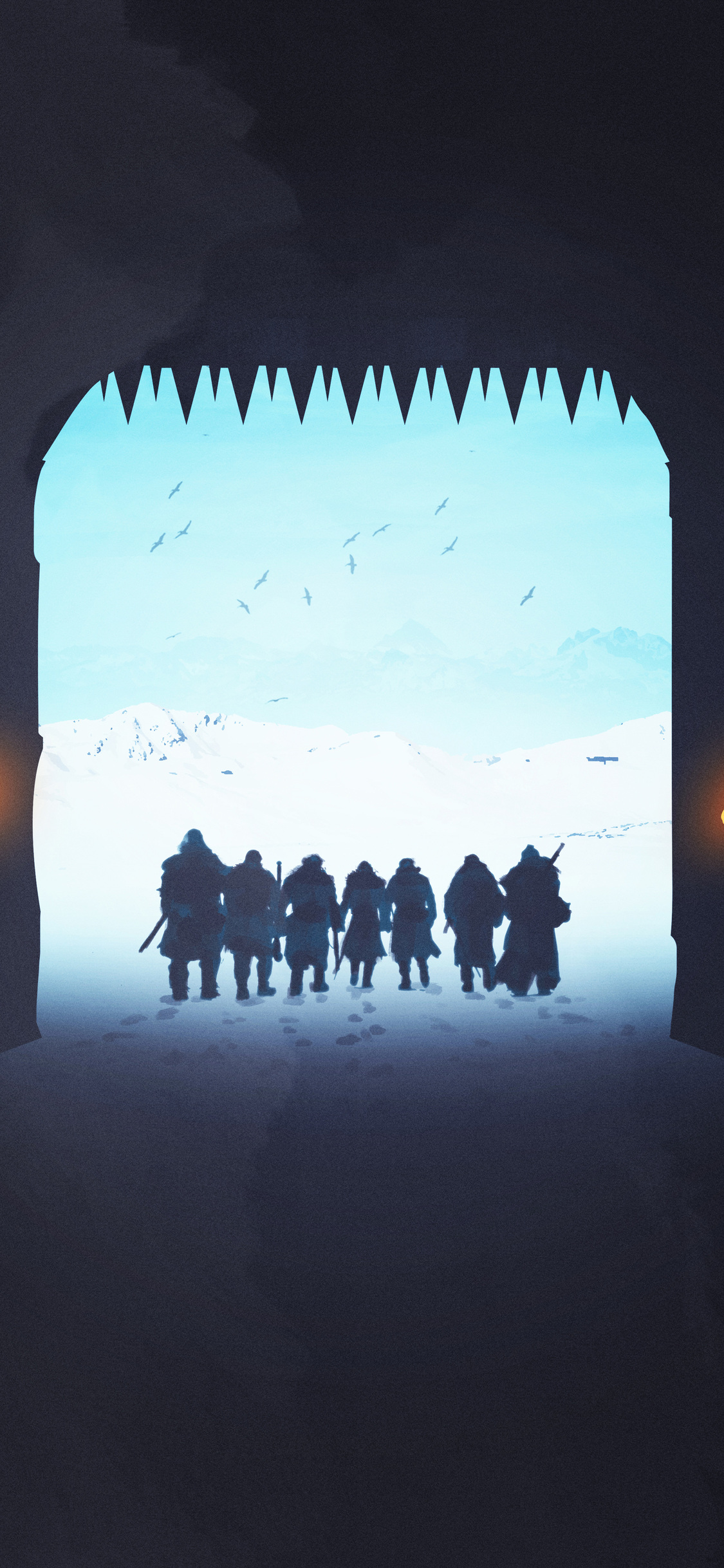 game of thrones night watch the wall iPhone game of thrones wallpaper - Tổng hợp ảnh nền Game of Thrones đẹp nhất cho iPhone