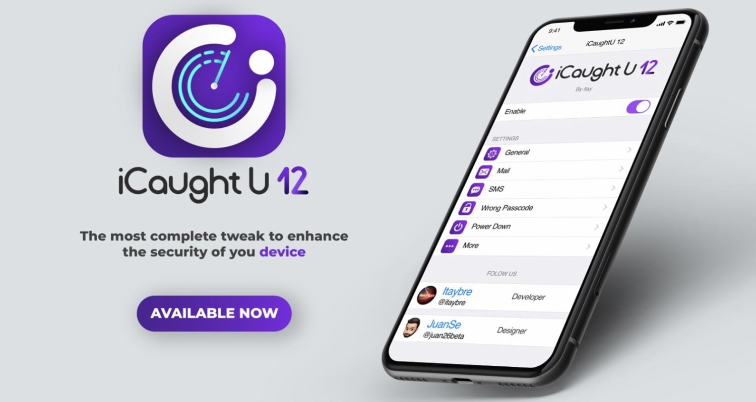 Protect your jailbroken iPhone from thieves with iCaughtU 12