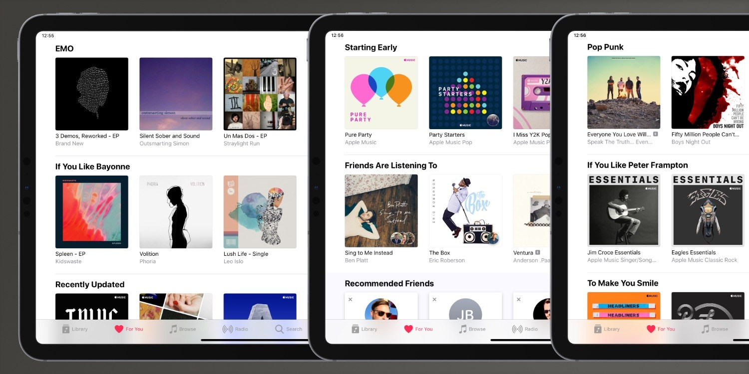 Apple Music's For You section gains theme-based