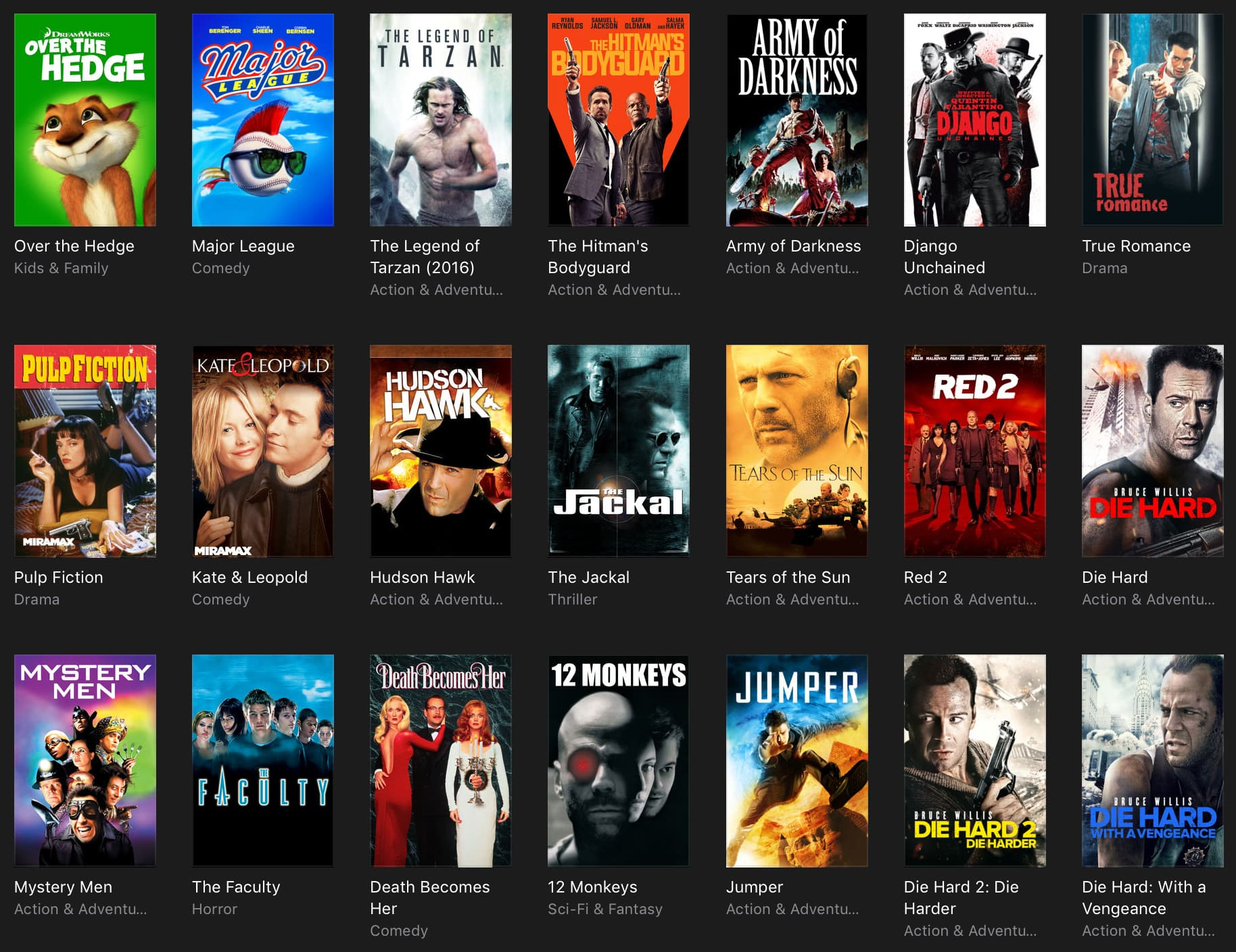 iTunes movie deals: recent releases under $10, $5 classics, and much more