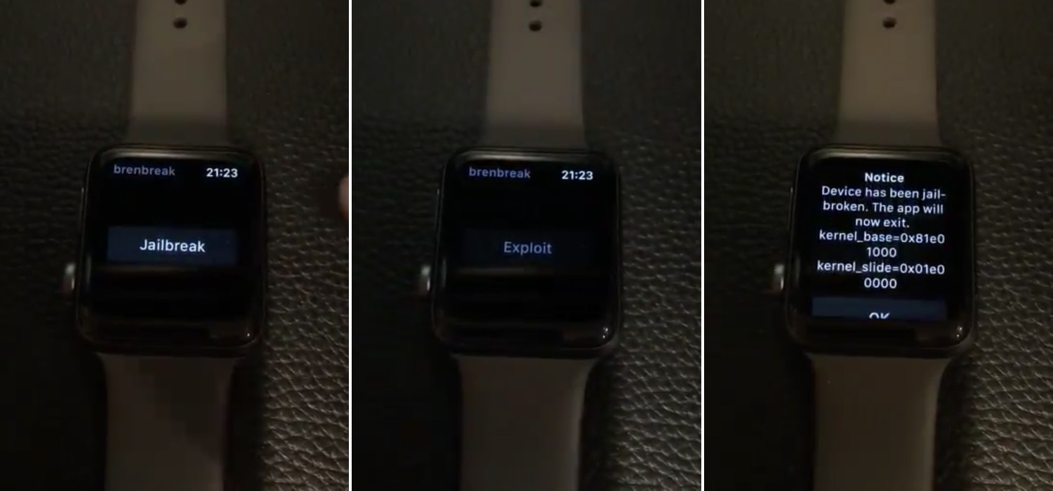 An Apple Watch jailbreak for watchOS 4 0-5 1 2 is purportedly in the
