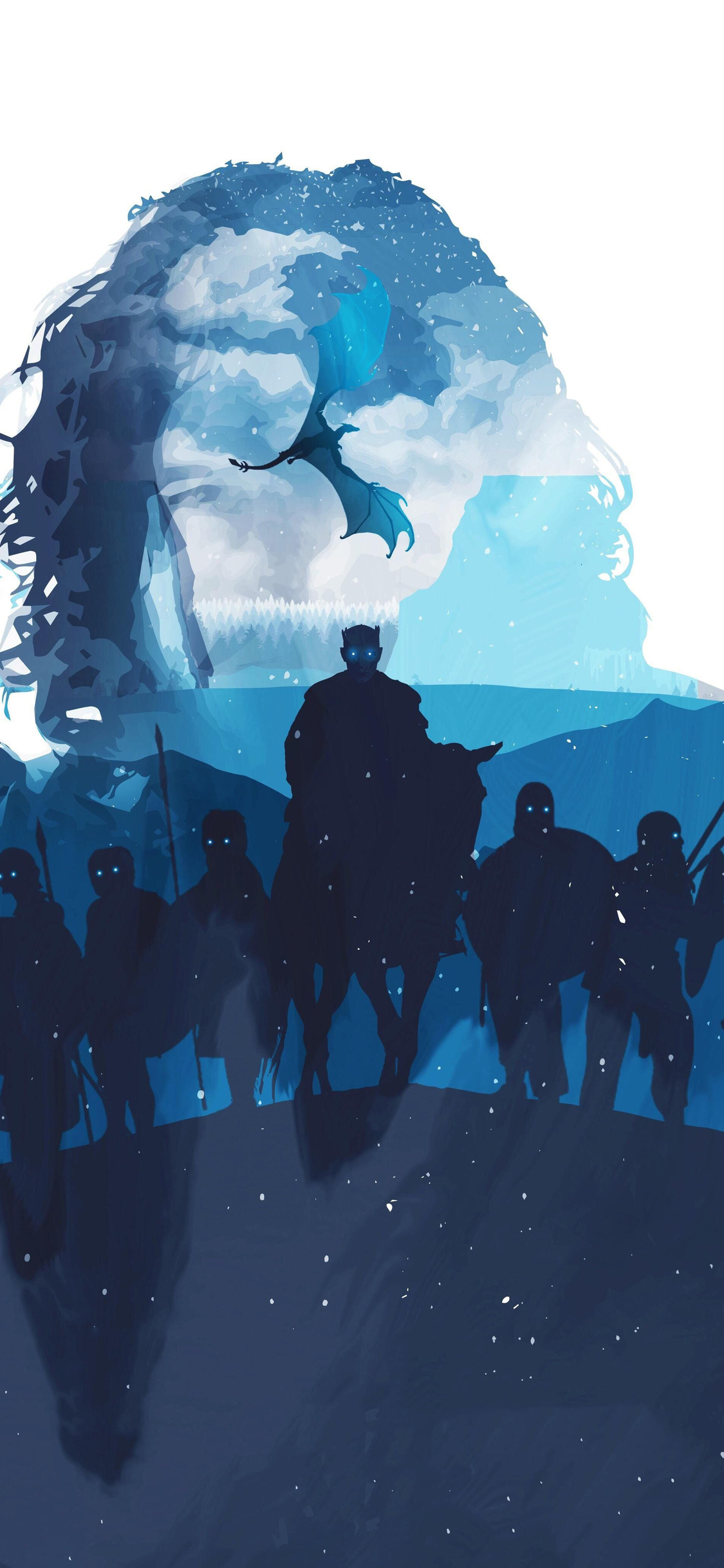 winter-is-here- iPhone game of thrones wallpaper