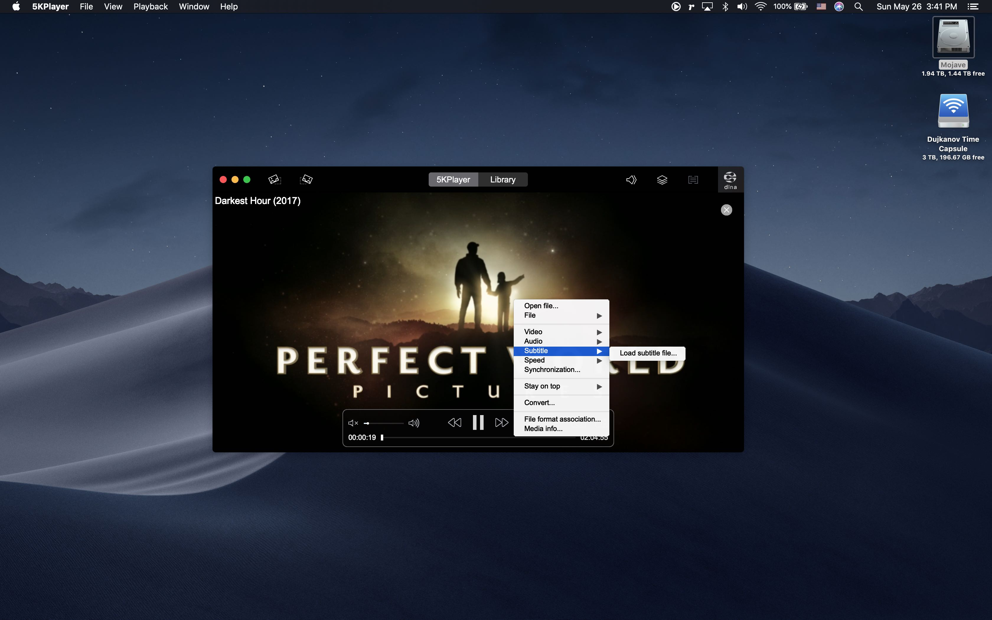 5KPlayer is a powerful UHD player that turns your Mac into