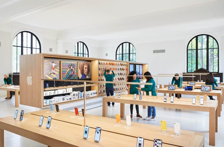 Check out photos of apple 39 s carnegie library store ahead - Interior design apps for mac ...