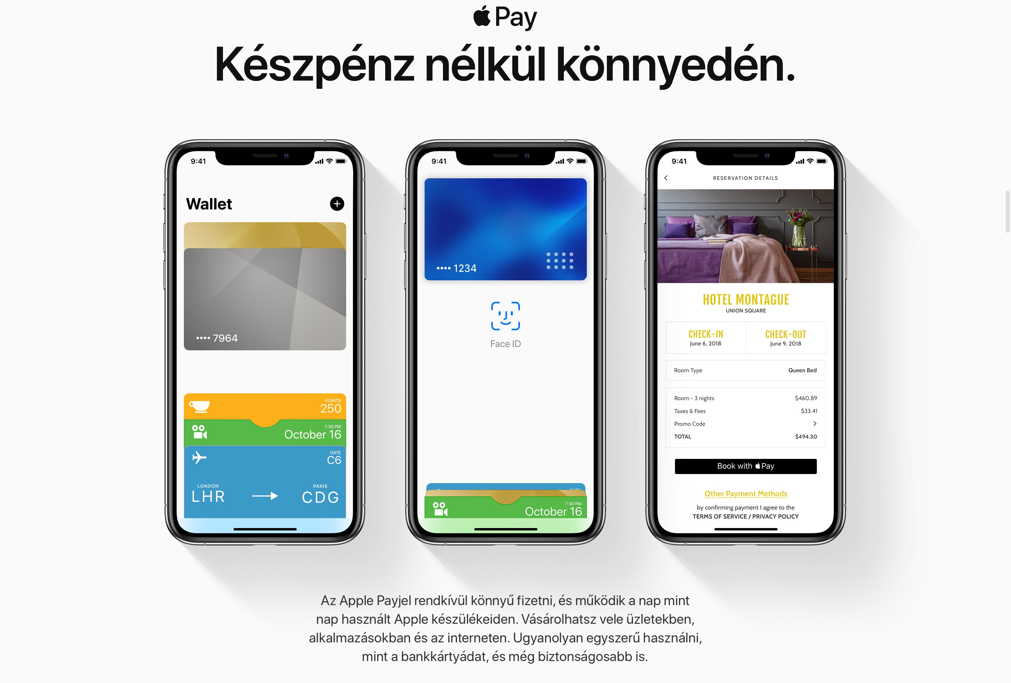 Apple Pay goes live for customers in Hungary and Luxembourg