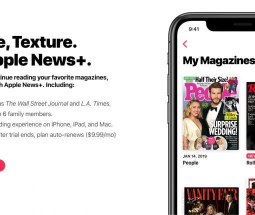 Apple has shut down Texture