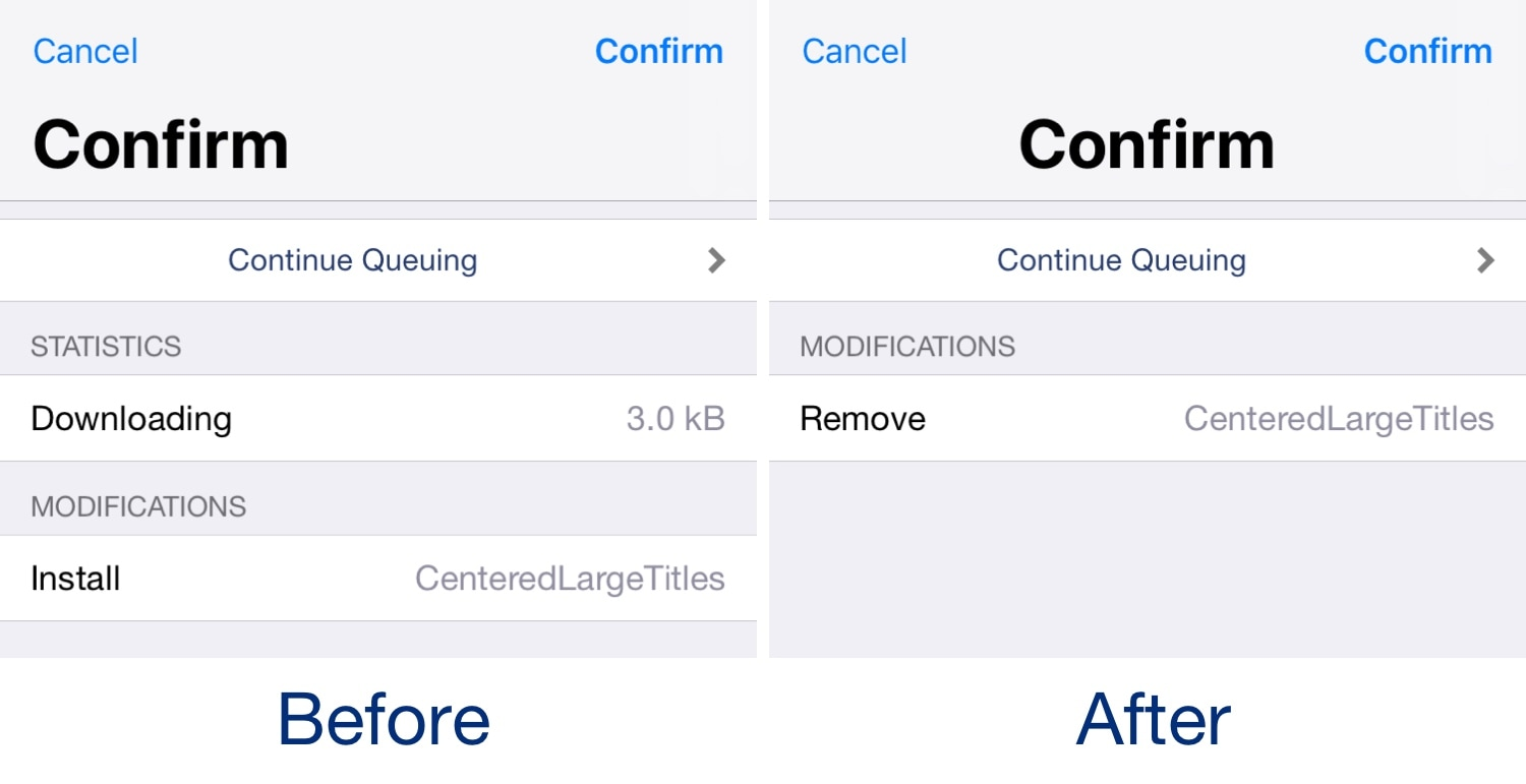 Center-align all application titles in iOS with CenteredLargeTitles