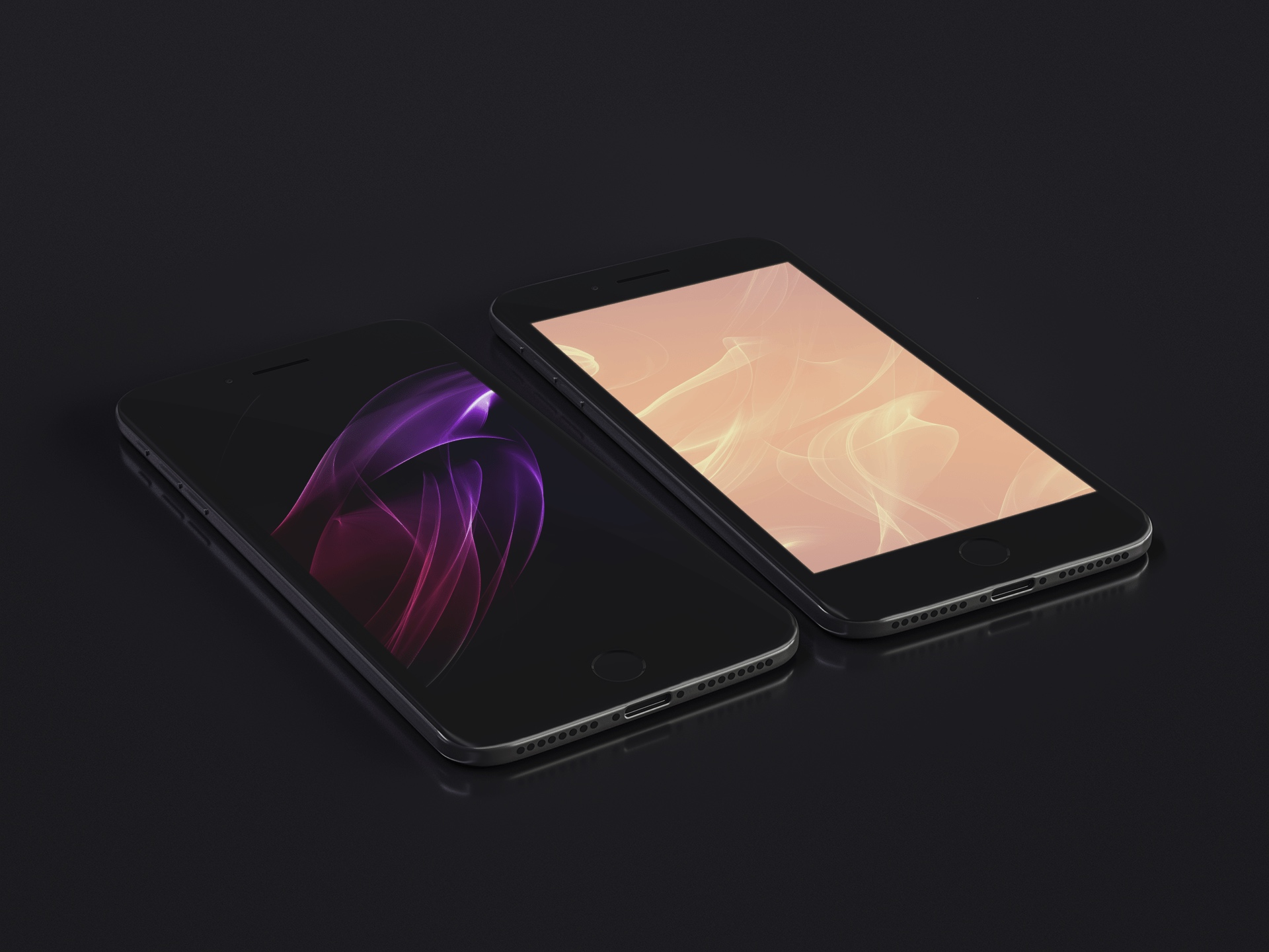 Fusion by arthwork idownloadblog wallpaper mock up