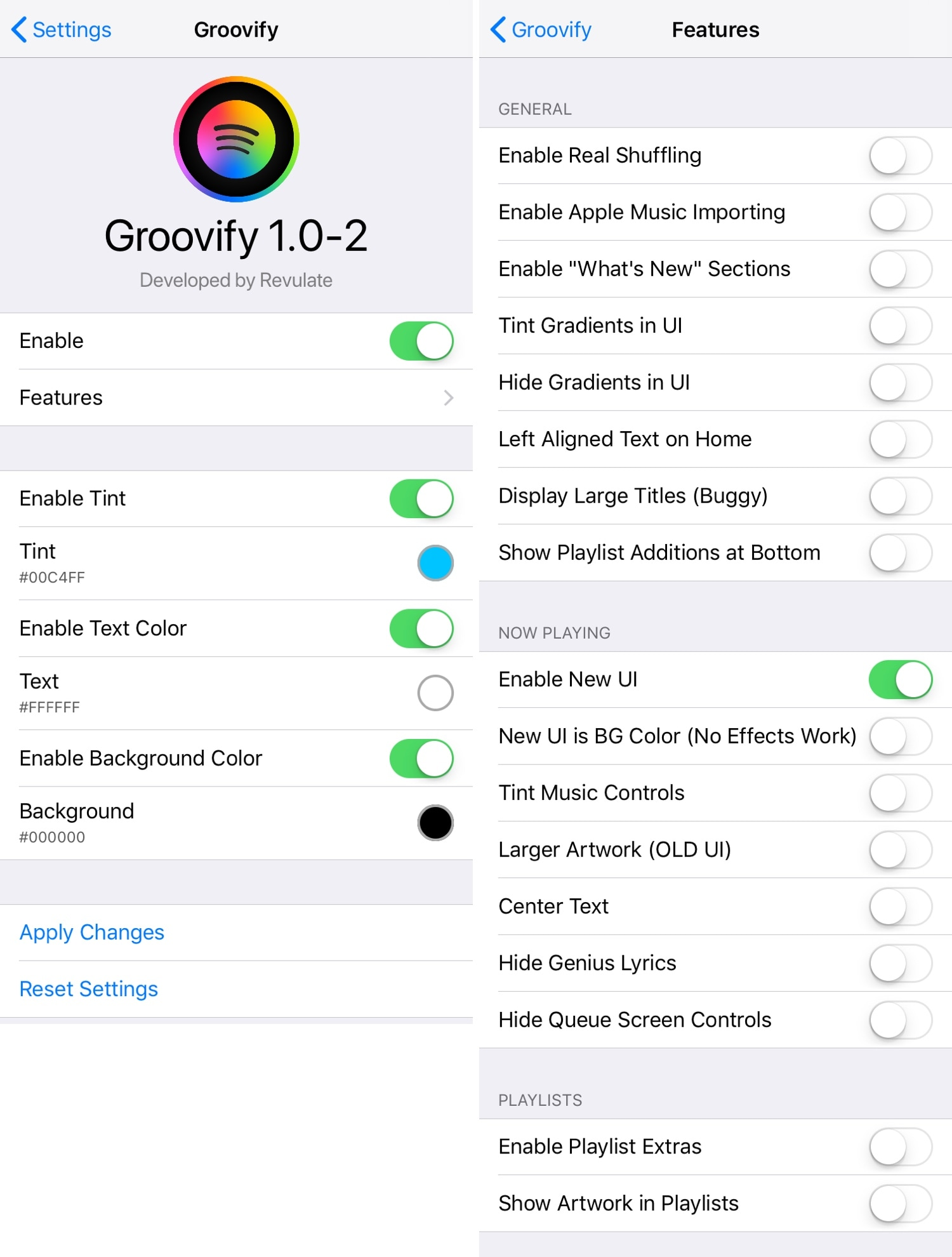 Groovify lets you customize the Spotify Music app without