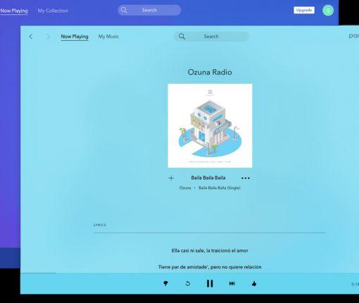 Pandora's new macOS app