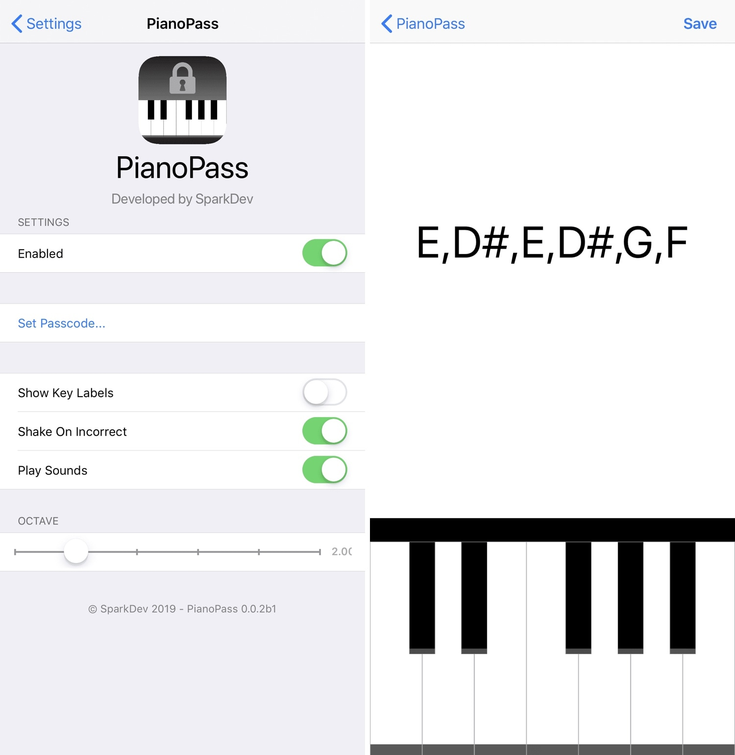 This tweak lets you unlock your iPhone with a piano-based passcode