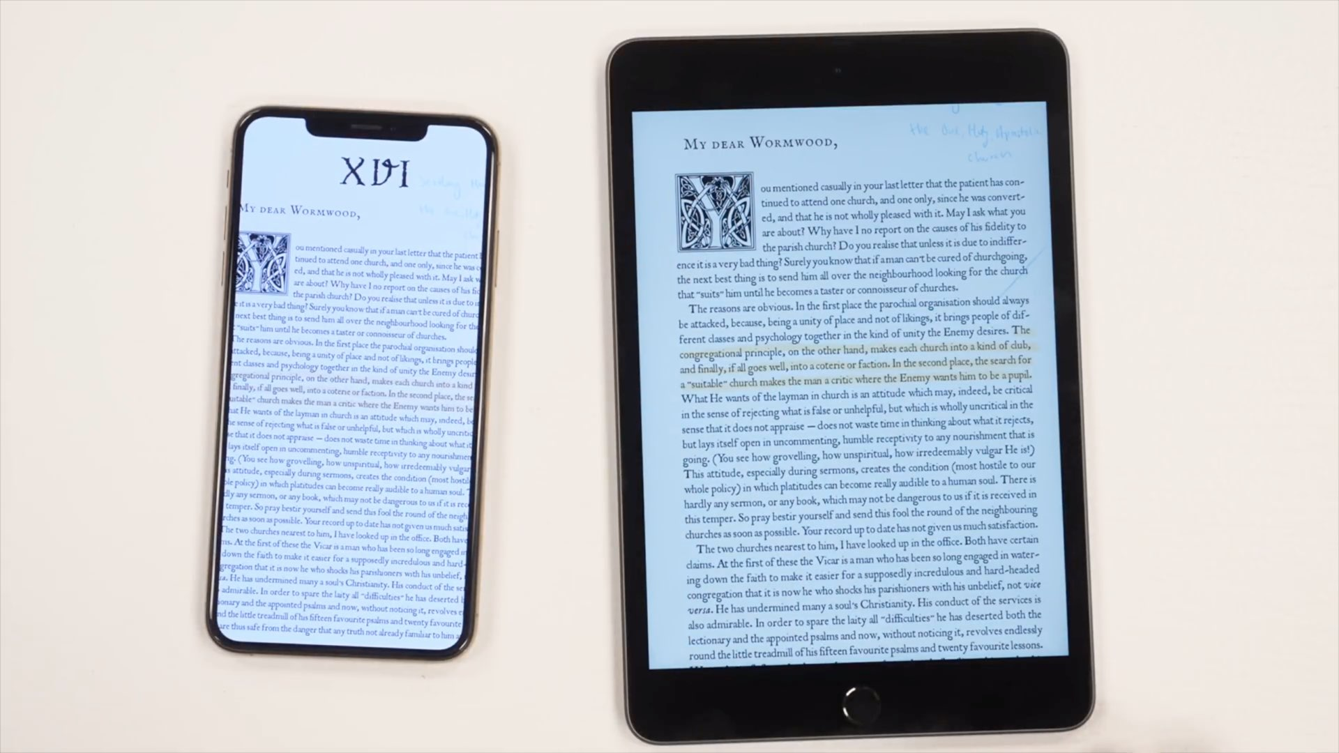 new style 9ca25 8c1f3 Hands-on video: iPad mini vs. iPhone XS Max — how the screen size ...