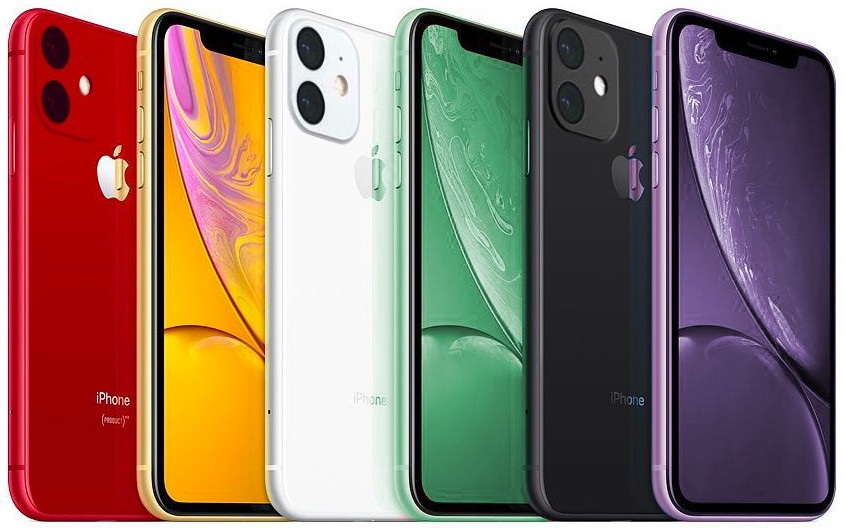 Renderings: the next iPhone XR in the new Lavender Pink and Mint Green colors