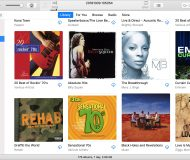 iTunes LIbrary Albums on Mac