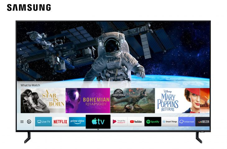 Samsung issues update with new Apple TV app and AirPlay 2 support for select TV models