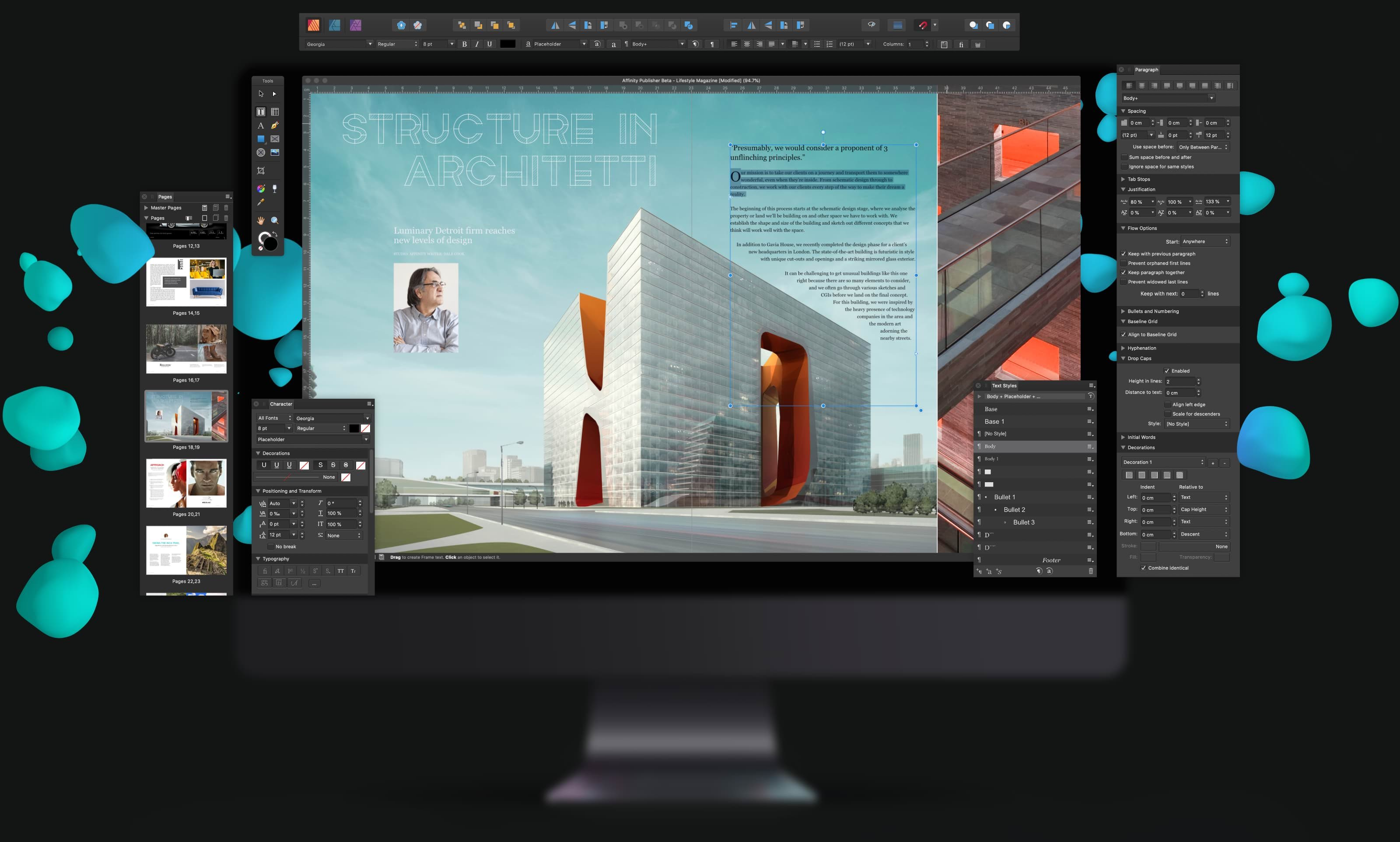 Professional desktop layout app Affinity Publisher launches