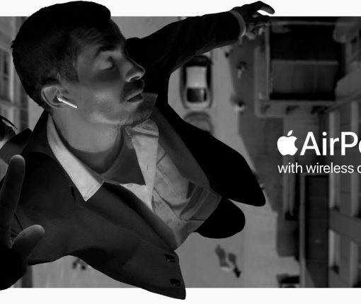 """Bounce"" ad to promote the new AirPods"