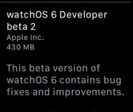 watchOS 6 teasing OTA updates on the Apple Watch