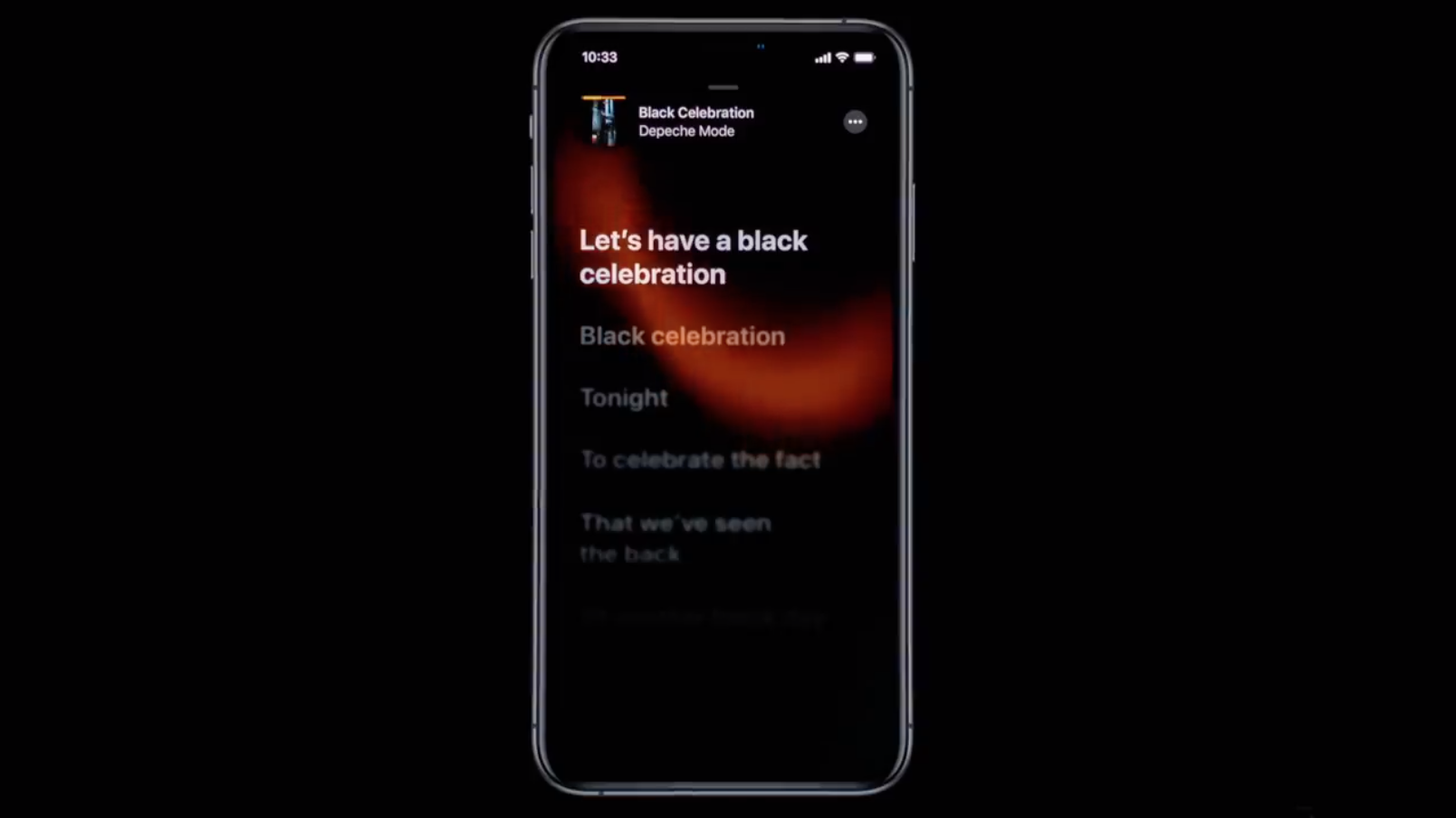 Apple launches time-synced lyrics in Apple Music and iOS 13