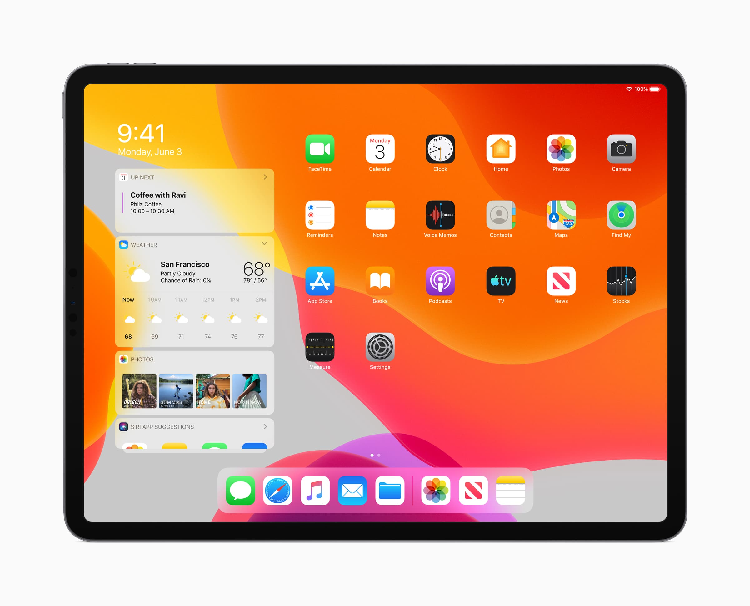 iPadOS lets you resize Home screen app icons