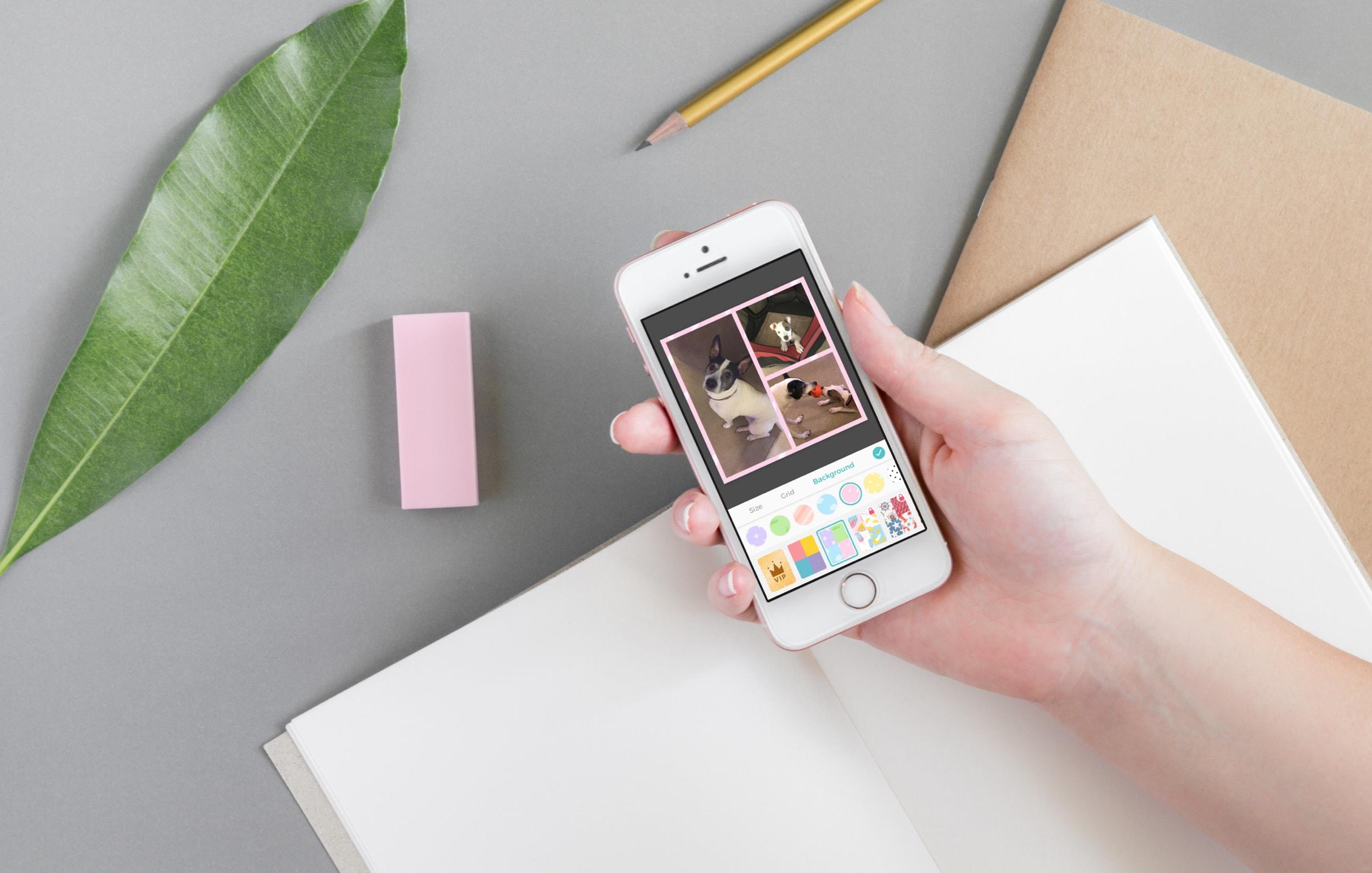 Las mejores aplicaciones de collage de fotos para iphone - PicCollage