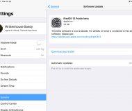 Install Public Beta iPad