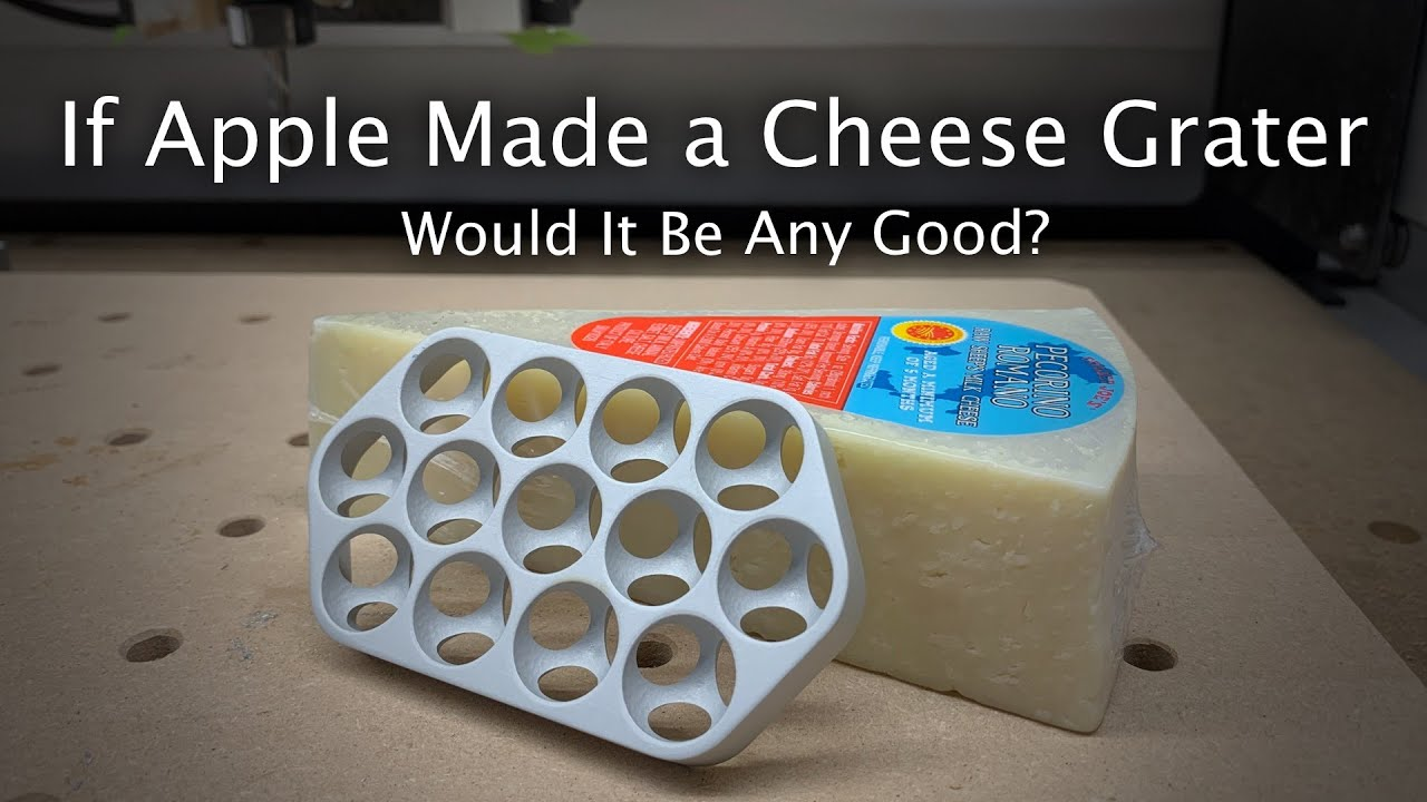 YouTuber proves the new Mac Pro isn't a great cheese grater