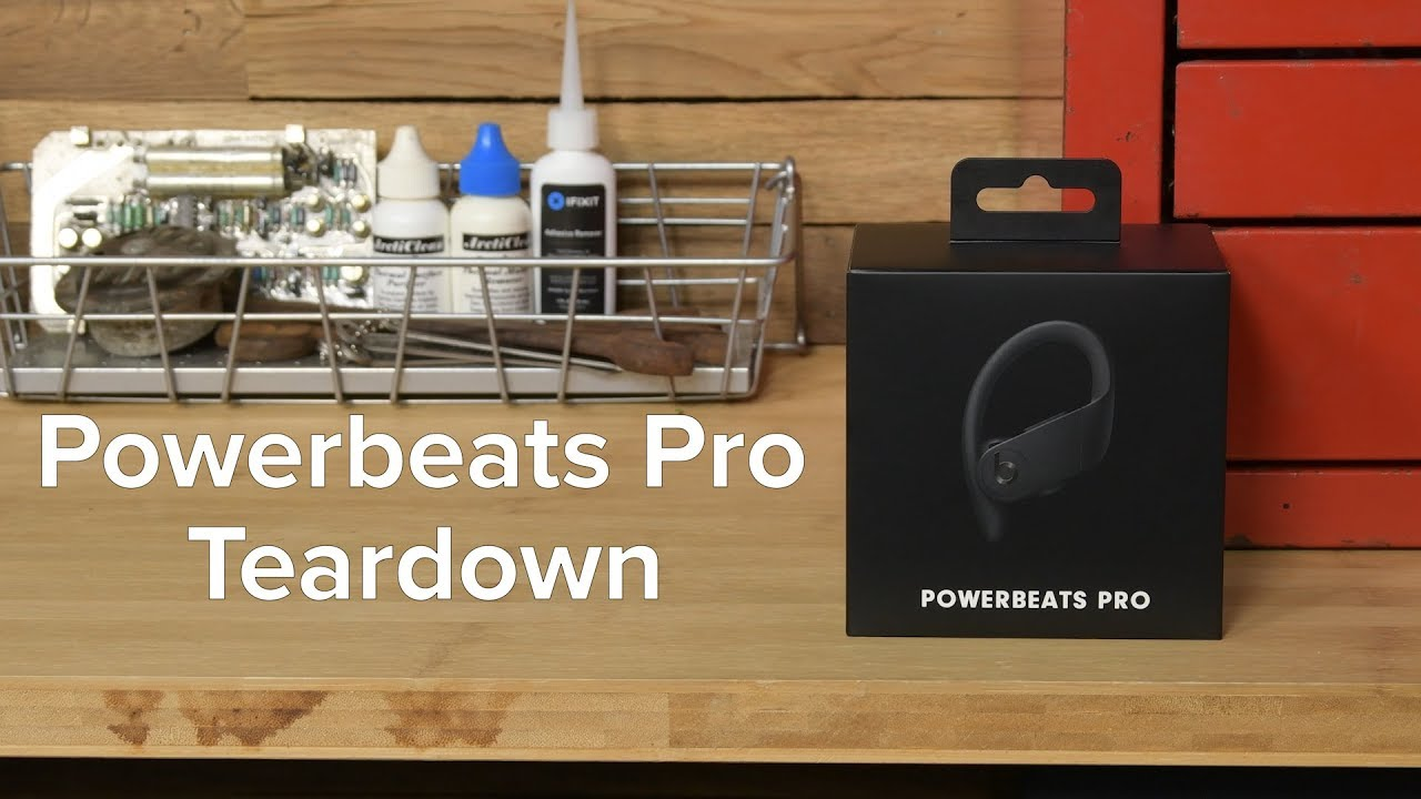 Powerbeats Pro by Beats get the teardown treatment
