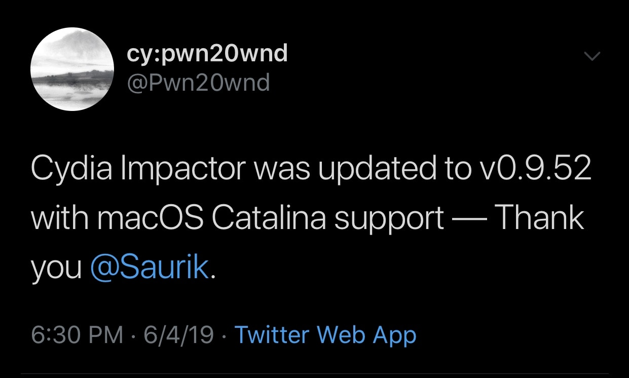 Saurik updates Cydia Impactor to v0 9 52 with support for